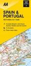 Road Map Spain & Portugal (AA Road Map Europe 02) (AA Road Map Europe Series)