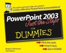 PowerPoint 2003 Just the Steps For Dummies
