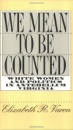 We Mean to be Counted: White Women and Politics in Antebellum Virginia (Gender and American Culture) - Elizabeth R. Varon