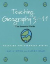Teaching Geography 3-11: The Essential Guide (Reaching the standard)