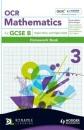 OCR Mathematics for GCSE Specification B: Homework Book Higher Silver and Gold Bk. 3 (OBMT) - Howard Baxter,Michael Handbury,John Jeskins,Jean Matthews,Mark Patmore