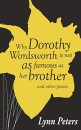 Why Dorothy Wordsworth is not as famous as her brother
