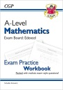 A-Level Maths for Edexcel: Year 1 & 2 Exam Practice Workbook: ideal for catch-up and the 2022 and 2023 exams (CGP A-Level Maths)