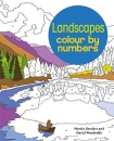 Landscapes Colour by Numbers (Arcturus Colour by Numbers Collection)