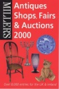 Miller's Antiques Shop, Fairs and Auctions 2000 (Millers Antiques Shops, Fairs and Auctions, 2000)