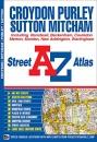 Croydon Street Atlas (A-Z Street Atlas): Including Banstead, Beckenham, Coulsdon, Merton, Morden, New Addington, Warlingham