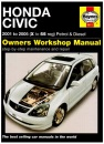 Honda Civic Petrol and Diesel Service and Repair Manual: 2001 to 2005 (Haynes Service and Repair Manuals)