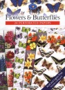 Flowers and Butterflies (Crafter's Paper Library)