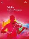 Violin Scales & Arpeggios, ABRSM Grade 4: from 2012 (ABRSM Scales & Arpeggios)