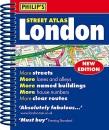 Philip's Street Atlas London - new spiral-bound edition: Mini Spiral Edition