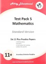 Mathematics Practice Papers (Standard Version) (Test Pack 5) (Secondary Selection Portfolio)