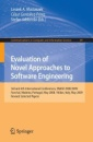 Evaluation of Novel Approaches to Software Engineering: 3rd and 4th International Conference, ENASE 2008 / 2009, Funchal, Madeira, Portugal, May 4-7, ... in Computer and Information Science)